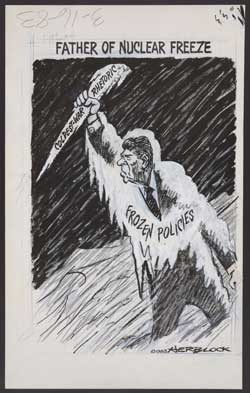 Political cartoon by Herb Block