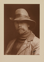 Edward Sheriff Curtis Self-Portrait