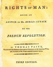 rights of man thomas paine ap essay Rights of man essay login site map free essay reviews i am sure thomas paine would look down on the united states of america in awe at the unity and.