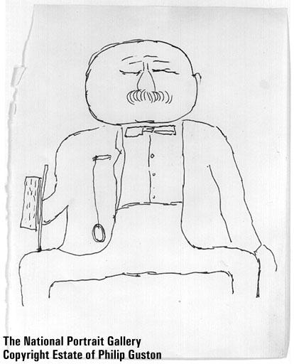 Philip Guston Self Portrait