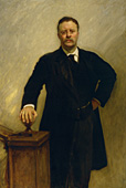 Theodore Roosevelt: Official White House portrait
