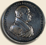John Quincy Adams medal