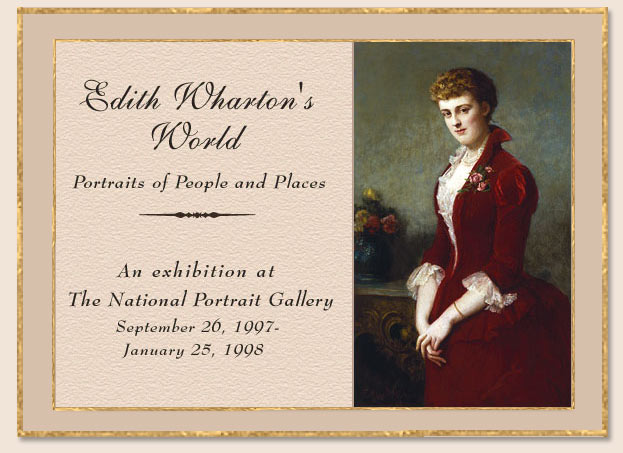 Edith Wharton: Portraits of People and Places