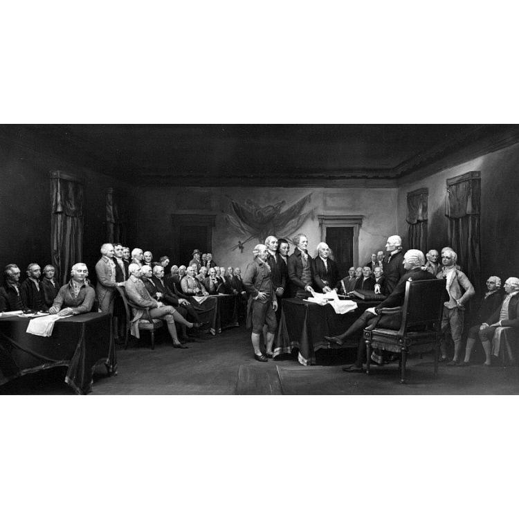 Declaration of Independence diorama