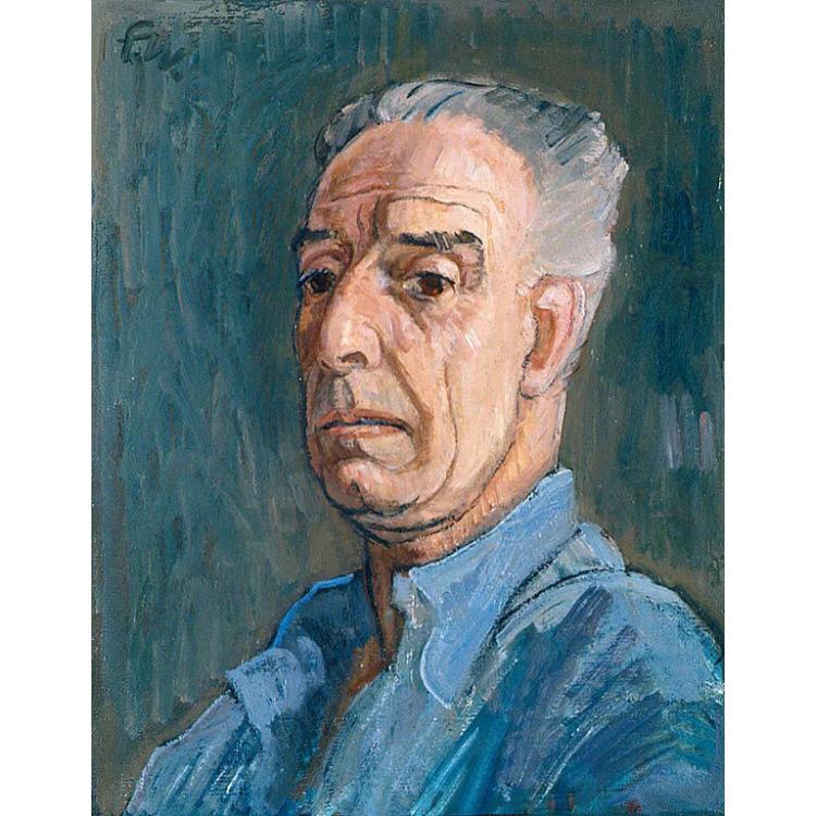 Franklin C. Watkins Self-Portrait