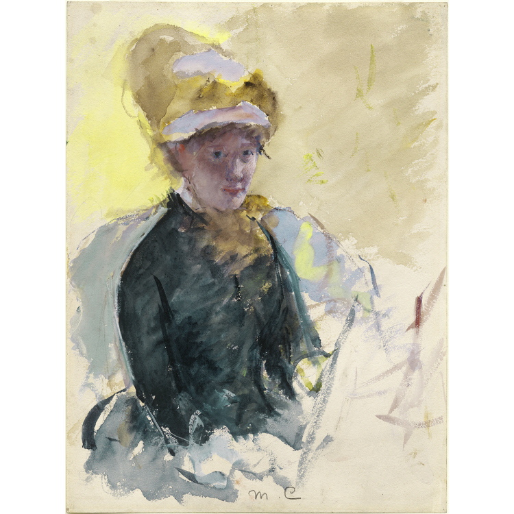 Mary Cassatt Self-Portrait
