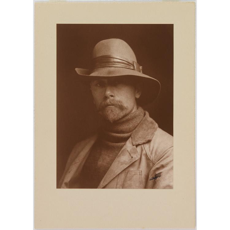 Edward Sheriff Curtis Self-Portrait