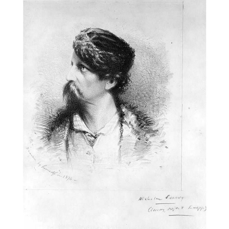 Napoleon Sarony Self-Portrait