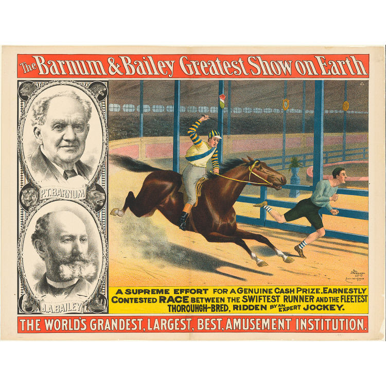 P.T. Barnum and James Bailey