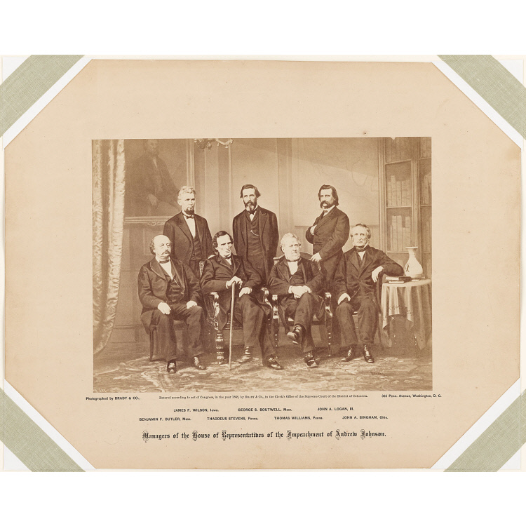 Managers of the House of Representatives of the Impeachment of Andrew Johnson