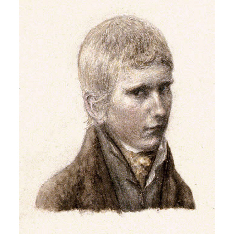 James Barton Longacre Self-Portrait