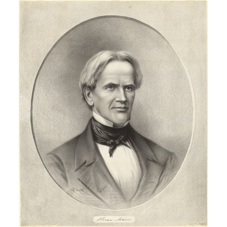 Horace Mann | National Portrait Gallery