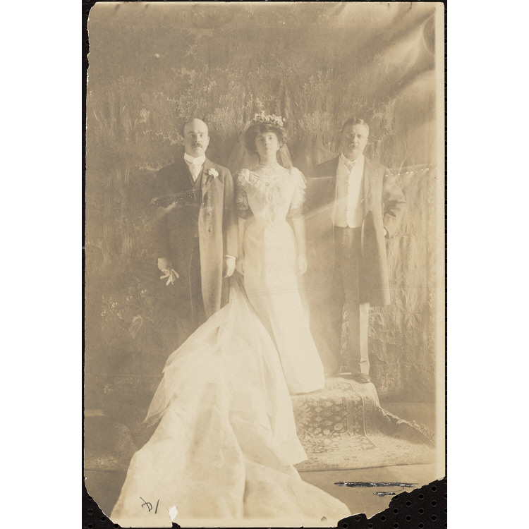 Theodore Roosevelt Alice Roosevelt Longworth And Nicholas Longworth