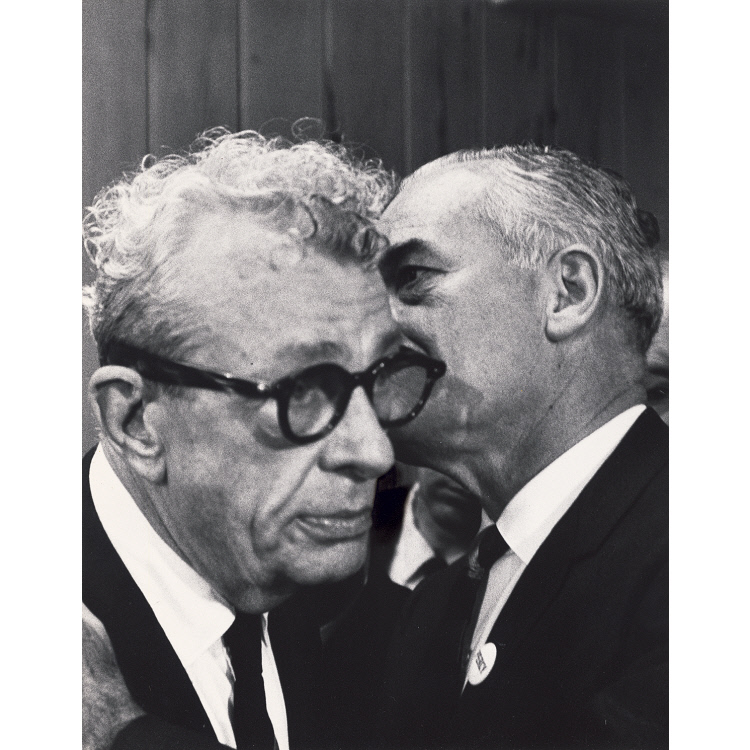 Barry Goldwater and Everett Dirksen