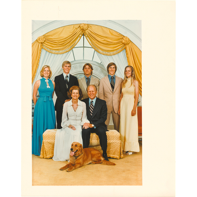 Gerald Ford and family