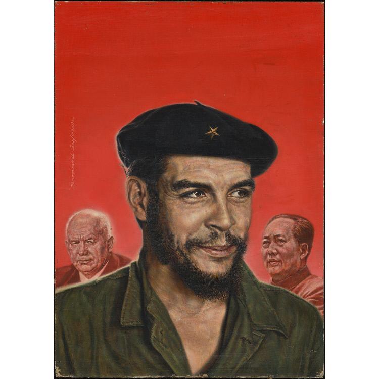 Guevara, Khrushchev and Mao Tse-tung