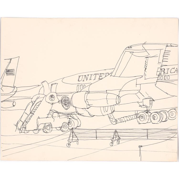 LBJ Campaign Sketches