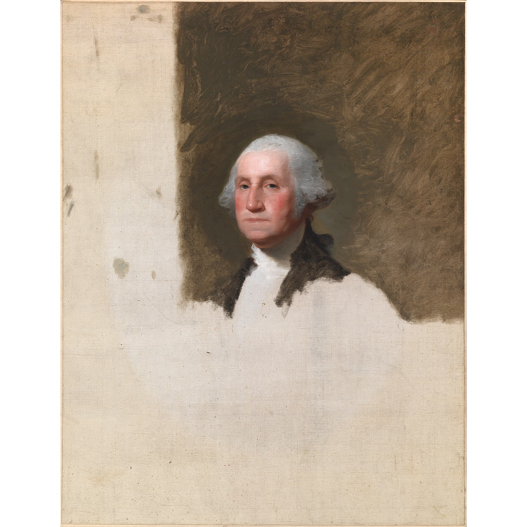 George Washington (The Athenaeum Portrait)