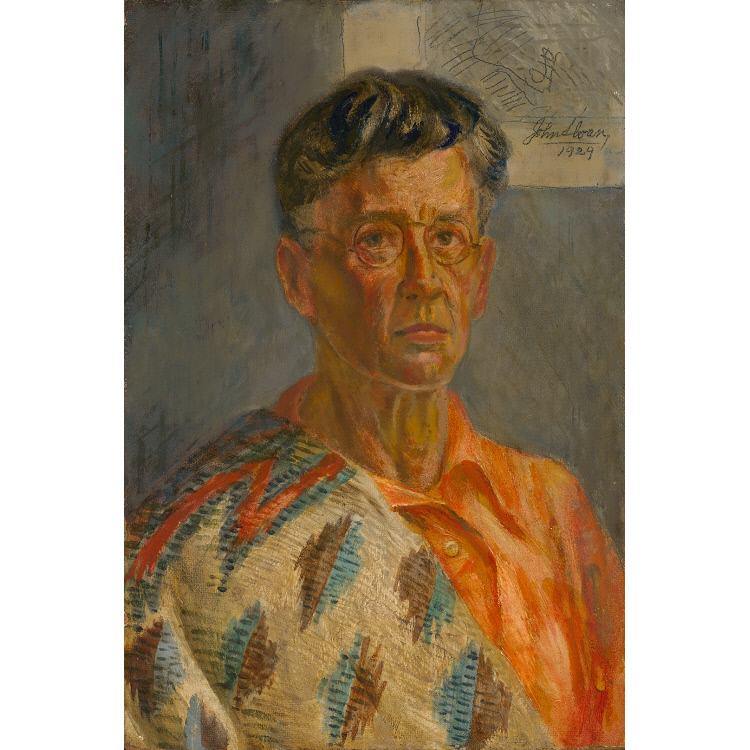 John French Sloan Self-Portrait