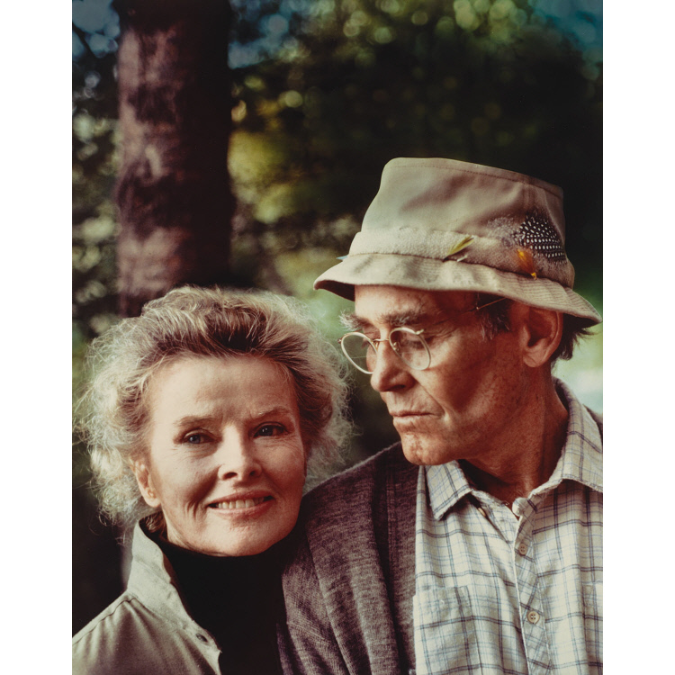 Henry Fonda and Katharine Hepburn
