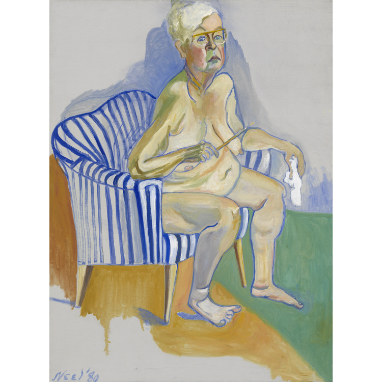 Alice Neel Self-Portrait
