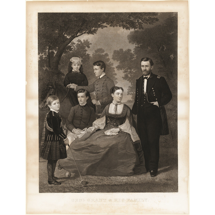 General Grant and His Family