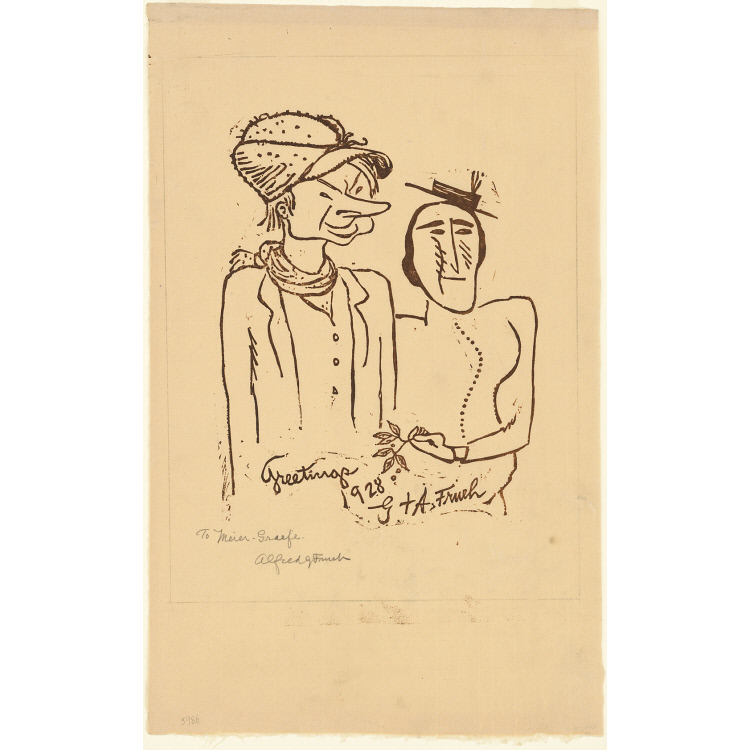 Alfred J. Frueh and Giuliette Frueh