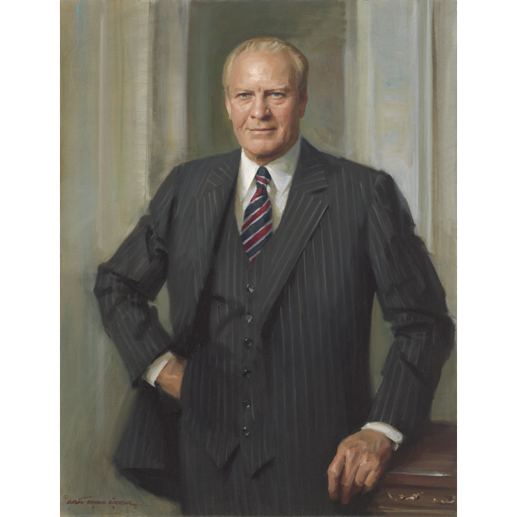 Gerald Ford National Portrait Gallery