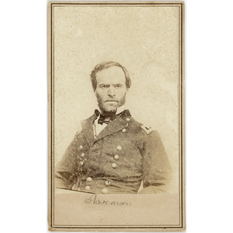 the life and military genius of general william t sherman William tecumseh sherman: sherman was made commander of the military division of party nearly killed commanding general william t sherman and his small.
