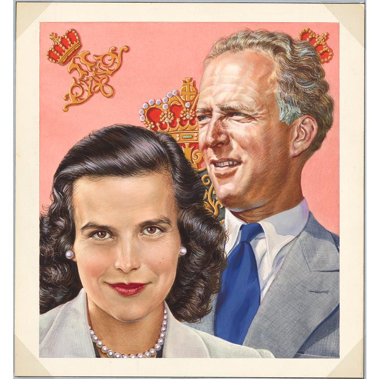 Leopold III and Princess de Rethy