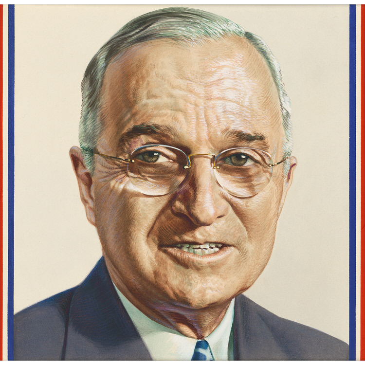 a biography of harry truman the president of the united states