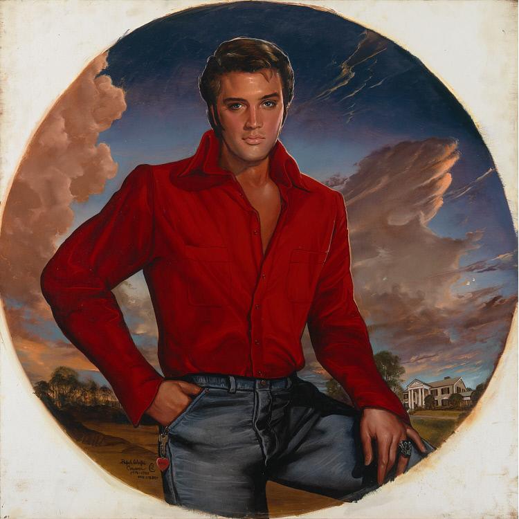 Sara Lynn Sanders latest painting. † ♪♫♪♪ Elvis Aaron ...  |1977 Elvis Painting