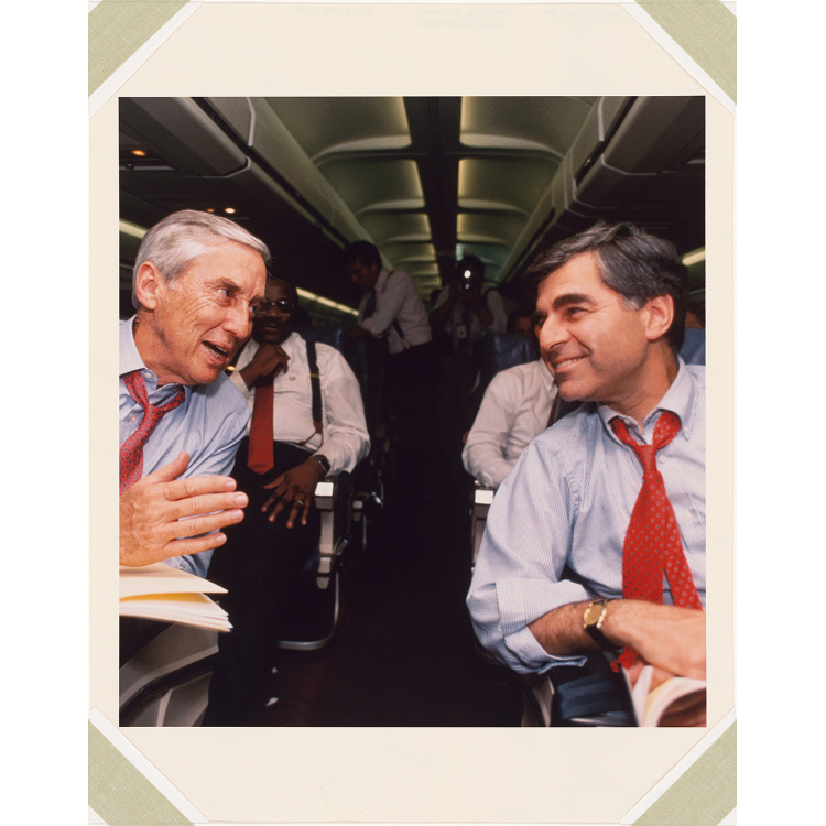 Michael Dukakis and Lloyd Bentsen