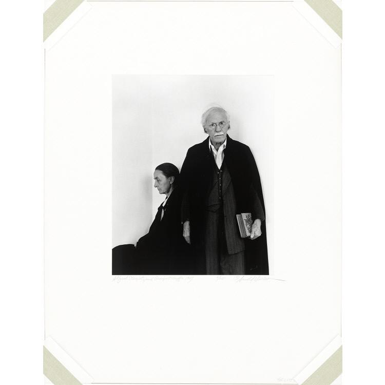 Alfred Stieglitz and Georgia O