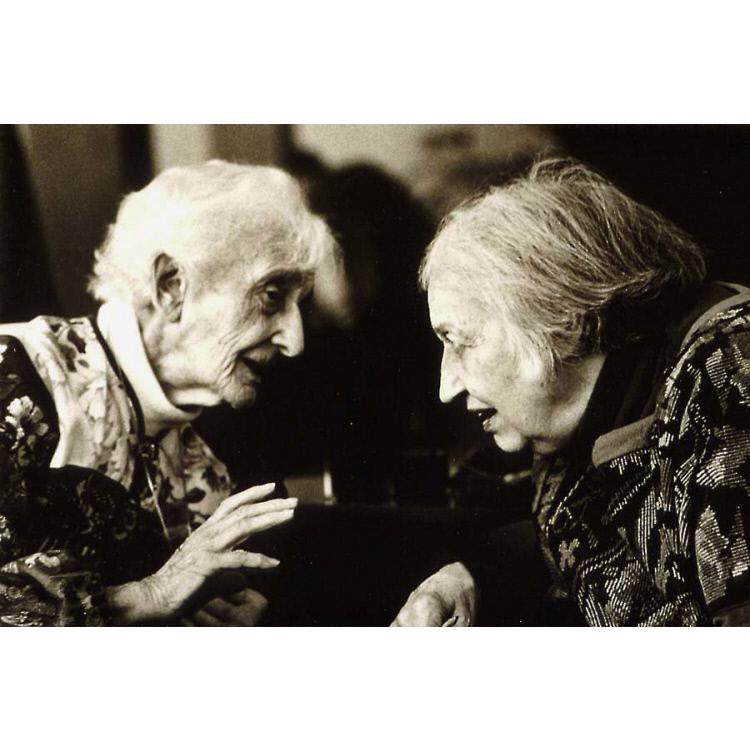 Lotte Jacobi and Barbara Morgan