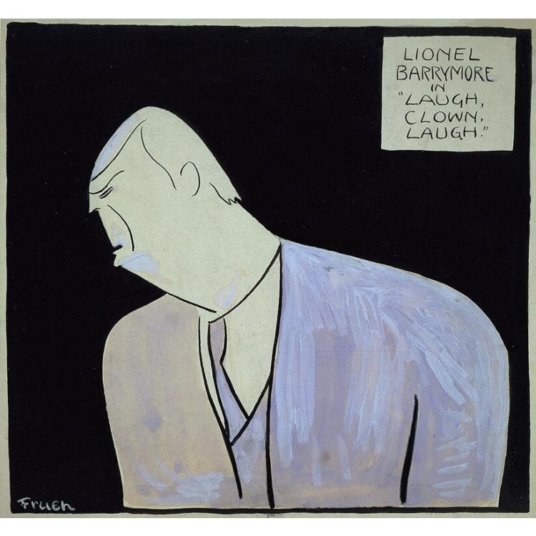 """Lionel Barrymore -- """"Laugh, Clown, Laugh"""""""