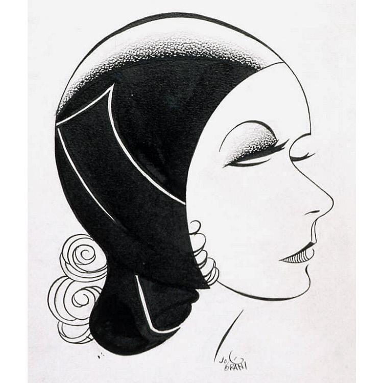 """Greta Garbo in """"The Kiss"""""""