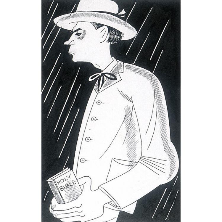 "Walter Huston in ""Rain"""