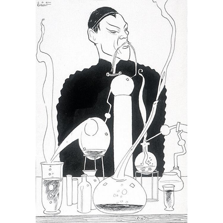 """Boris Karloff in """"Mask of Fu Manchu"""""""