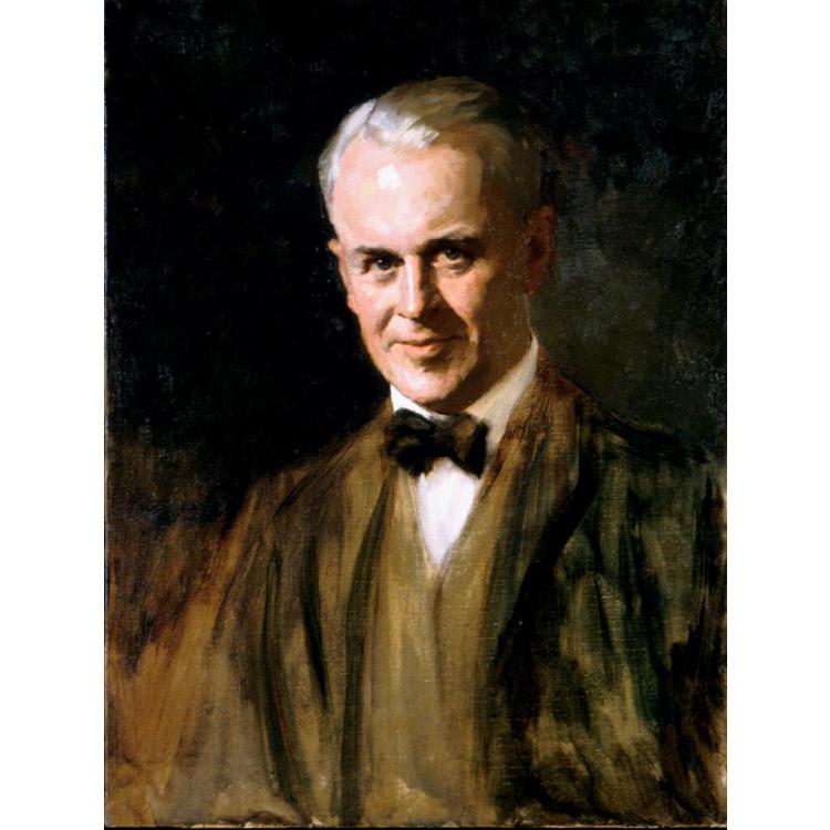 """robert andrew millikan ในปี พศ2452 (คศ1909) รอเบิร์ต แอนดรูส์ มิลลิแกน (robert millikan) นักวิทยาศาสตร์ชาวอเมริกา ได้ทำการทดลองชื่อ """"การทดลองหยดน้ำมันของมิลลิแกน."""