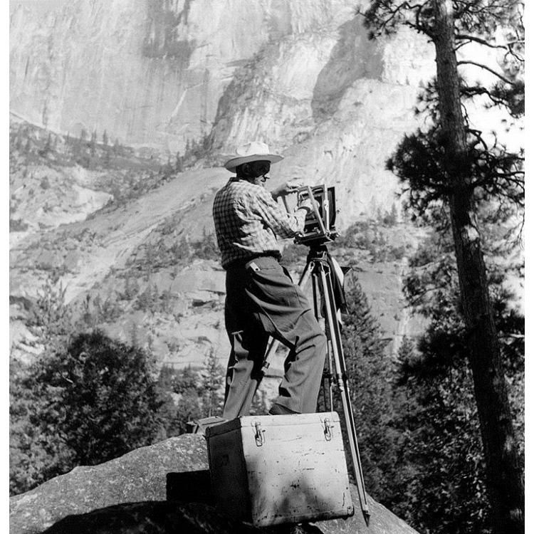 Image result for Ansel Adams portrait