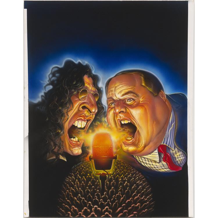 Howard Stern and Rush Limbaugh