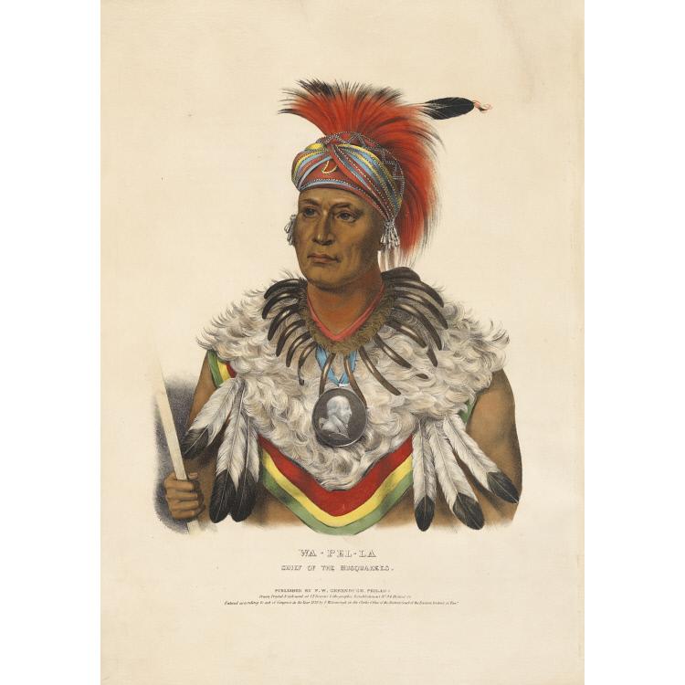 Wa-pel-la - Chief of the Musquakees