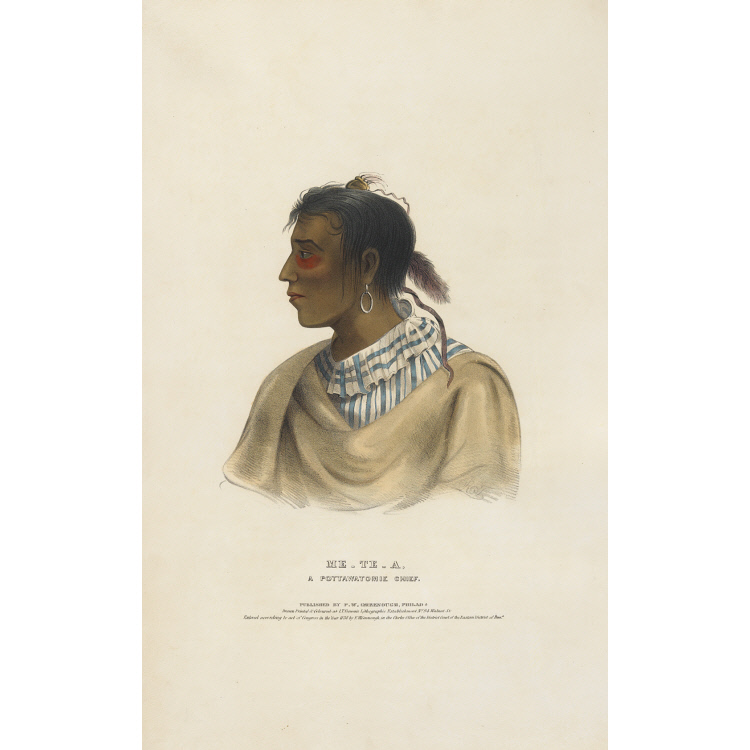 Me-te-a - A Pottawatomie Chief