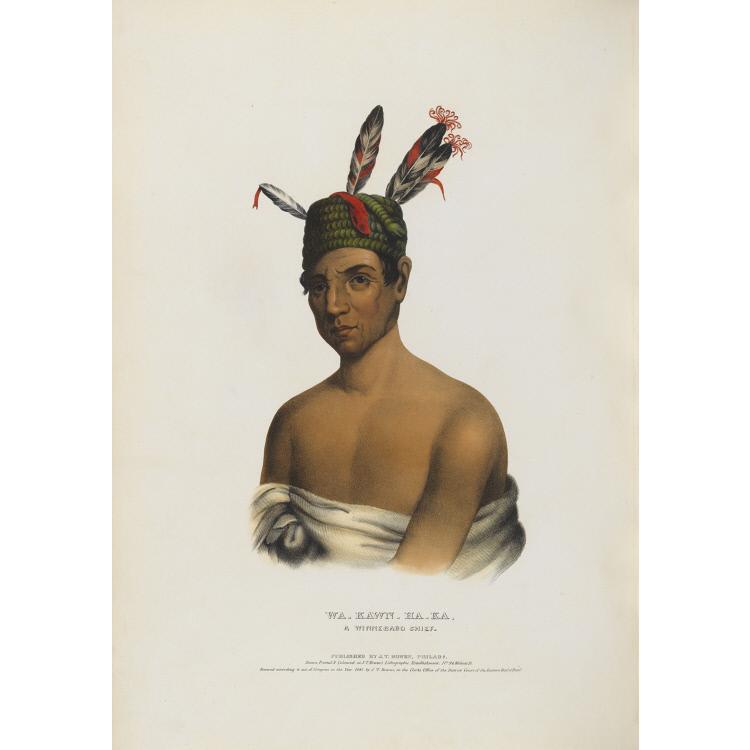 Wa-kawn-ha-ka - A Winnebago Chief