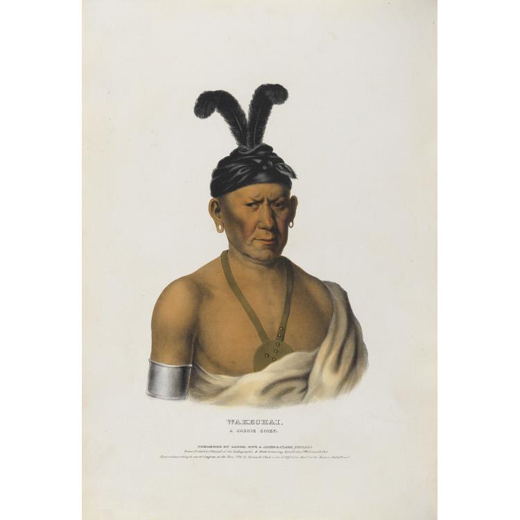 Wakechai - A Saukie Chief