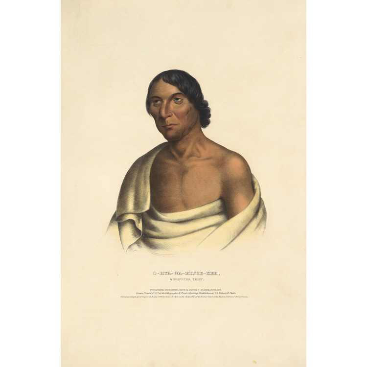 O-hya-wa-mince-kee - A Chippewa Chief