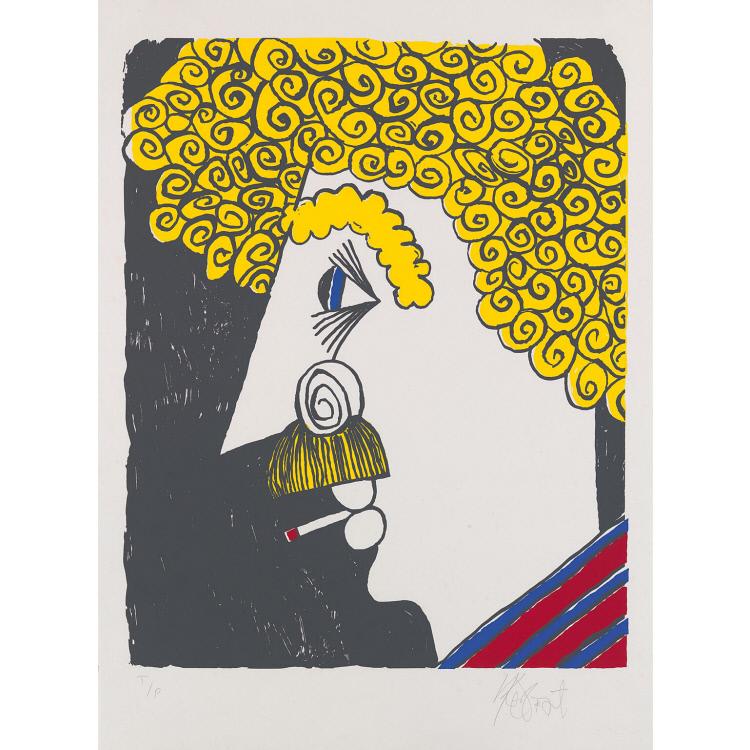 Kurt Vonnegut Self-Portrait