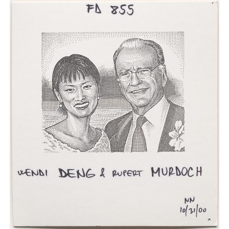 Wendi Deng and Rupert Murdoch