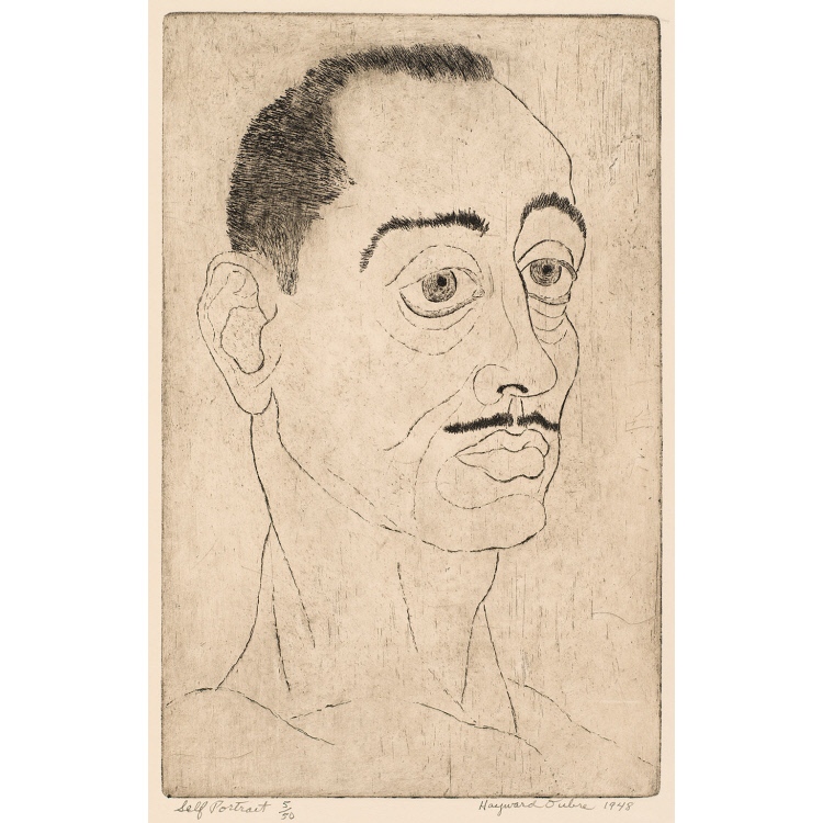Hayward Oubre Self-Portrait